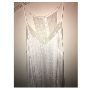 White Lace Tank Top (Torrid) (NEVER WORN)